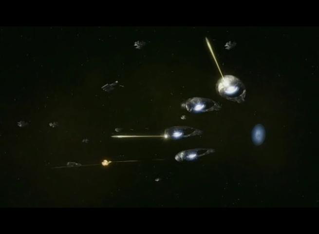 Clip - 12 - Bataille spatiale contre les Oris